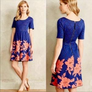 Anthropologie HD in Paris Blushed Blooms Dress